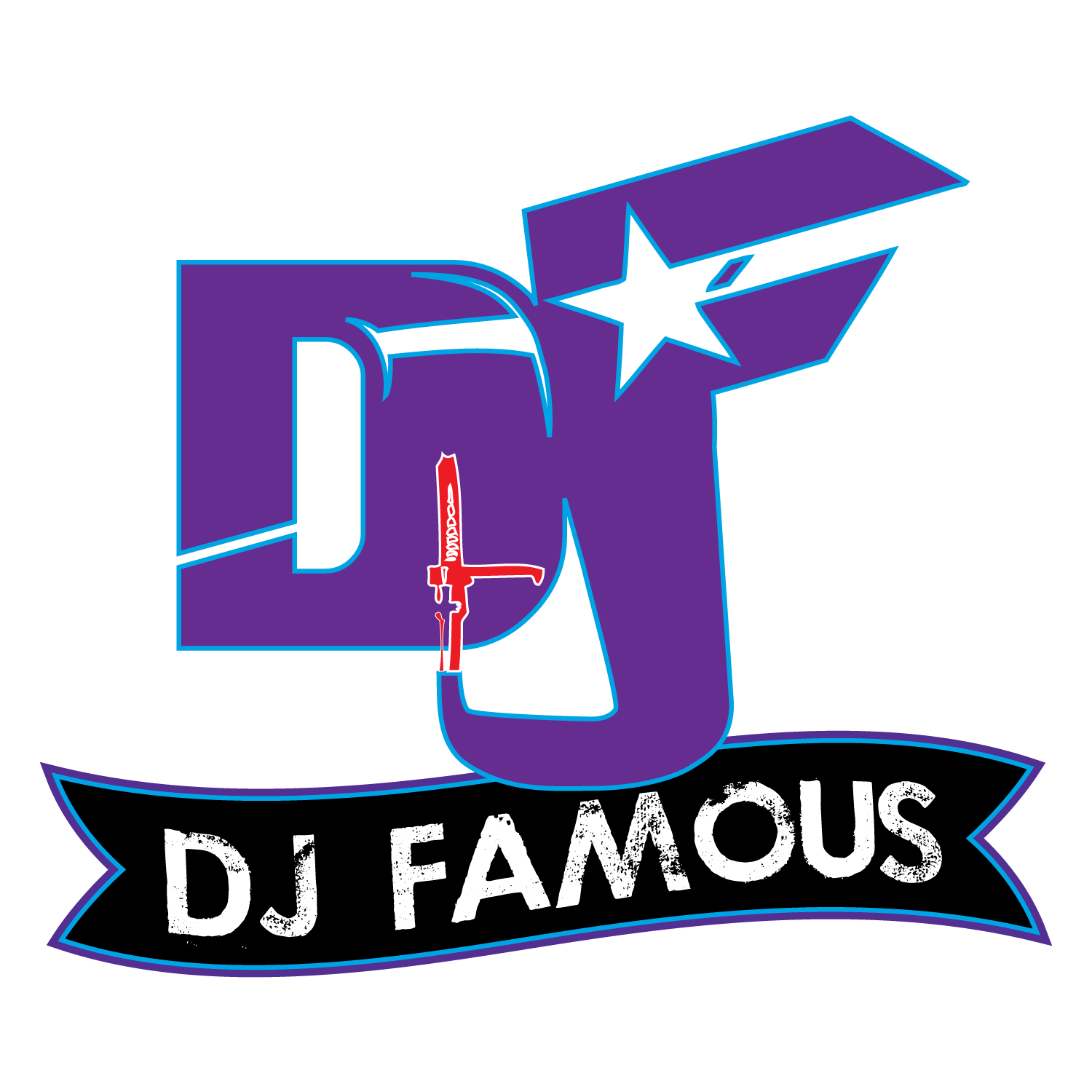 New Logo Design For Dj Famous By Flesh Designz All Media